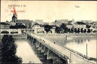 Gorzów Wielkopolski Landsberg Warthe Ostbrandenburg, Total mit Brücke