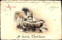 a Merry Christmas, Maghreb, Brunnen, Einheimische