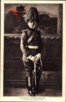 Prinz Luitpold von Bayern, Leutnant im Feld Artill. Reg.
