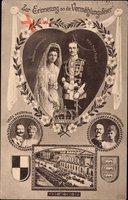 Prinzessin Viktoria Luise,Prinz Ernst August,Wilhelm II,Herzog v. Cumberland
