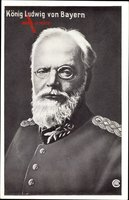 König Ludwig von Bayern, Portrait, Uniform