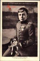S.K.H. Luitpold von Bayern, Leutnant im I. Feld Artillerie Regiment