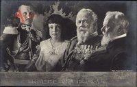 Prinzregent Luitpold von Bayern, Kronprinz Rupprecht, König Ludwig III.