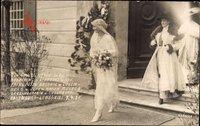 Prinzessin Antonie von Luxemburg mit Mutter, Hochzeit mit Rupprecht 1921