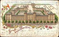 Berlin Kreuzberg, Kaserne des 3. Garde Regiments zu Fuß