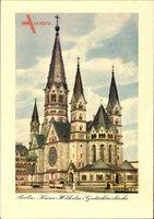 Berlin Charlottenburg, Blick auf die Kaiser Wilhelm Gedächtniskirche