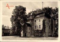 Berlin Zehlendorf Dahlem, Blick auf das Jagdschloss Grunewald, Hoffront