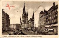 Berlin Charlottenburg, Tauentzienstraße und Kaiser Wilhelm Gedächtniskirche