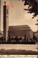 Berlin Wilmersdorf, Seitenansicht der Kirche am Hohenzollernplatz