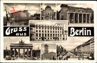 Berlin, Reichskanzlei, Unter den Linden, Brandenburger Tor, Ehrenmal