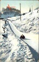Wintersport, Bobsleigh Bahn, Sport dhiver, Piste, Bobfahrer
