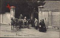 Friedrichsruh Aumühle, Letzte Ausfahrt des Fürsten von Bismarck
