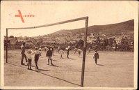 Menerville Algerien, Le Stade et vue sur les Villas nouvelles, Fußball