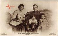 Herzog Ernst August von Braunschweig Lüneburg, Viktoria Luise
