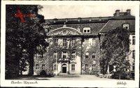 Berlin Köpenick, Schlossansicht, Rankenwuchs, Eingang