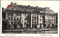 Berlin Köpenick, Schlossansicht, Rankenwuchs, Wasserseite