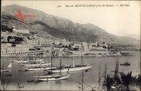 Monte Carlo Monaco, Vue sur le Port, Hafen, Yachten