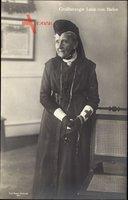 Großherzogin Luise von Baden, Standportrait, Rotes Kreuz