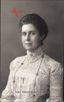 Großherzogin Hilda von Baden, Portrait, Perlenkette