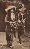 Herzog Ernst August von Braunschweig Lüneburg, Viktoria Luise, Husar