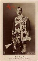 Herzog Ernst August von Braunschweig Lüneburg, Husarenuniform, NPG 4705