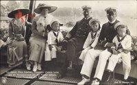 Kaiser Wilhelm II., Prinz Adalbert, Viktoria Luise, Cecilie, Prinzen, NPG 4456
