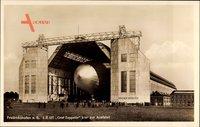 Friedrichshafen Bodensee, LZ 127, Graf Zeppelin klar zur Ausfahrt