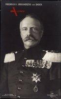 Großherzog Friedrich II. von Baden, Portrait, Orden, Uniform