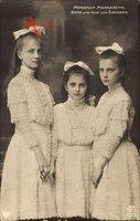 Prinzessinnen Margarethe, Anna und Alix von Sachsen