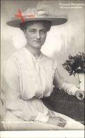 Prinzessin Margarete, Herzogin von Sachsen, Sitzportrait