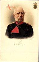 Wappen König Albert von Sachsen, Portrait, EK