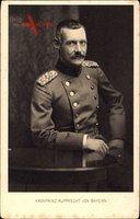 Kronprinz Rupprecht von Bayern, Sitzportrait, Uniform