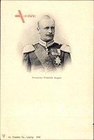 König Friedrich August III. von Sachsen, Portrait, Uniform, Orden