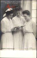 Prinzessinnen Margarete, Maria Alix und Anna von Sachsen