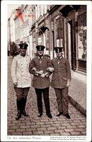 Die drei sächsischen Prinzen, Aufgenommen von Prinz Johann Georg