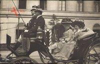 Kaiserin Auguste Viktoria, Viktoria Luise, Pferdekutsche