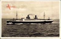 Dampfschiff Stuttgart, Norddeutscher Lloyd Bremen, In Fahrt