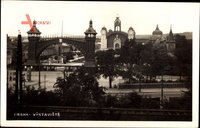 Praha Prag, Výstaviště, Ausstellungsgelände, Einfahrtstor