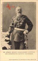 Prinzregent Luitpold von Bayern, Uniform, Säbel, Orden
