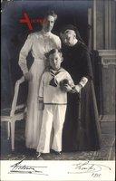Großherzogin Luise von Baden, Viktoria von Baden, Prinz