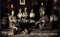 König Friedrich August III. von Sachsen im Kreise seiner Kinder
