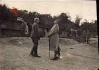 Großherzog Friedrich II. von Baden, Fallschirmabsprung beobachtend