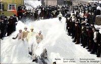 Davos Kt. Graubünden Schweiz, Wintersport, Bobsleighrennen