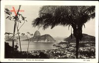 Rio de Janeiro Brasilien Praia de Botafogo, Zuckerhut, Bucht