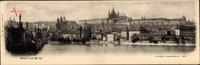 Praha Prag, Die Kleinseite vom Kreuzherrenplatz aus