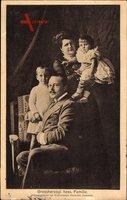 Großherzog Ernst Ludwig von Hessen Darmstadt, Eleonore, Georg Donatus, Ludwig