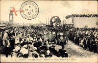 Casablanca Marokko, Premier Carnaval, le Char de la Douane, Umzug