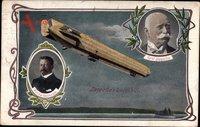 Luftfahrtpionier Ferdinand Graf von Zeppelin, Prinz Heinrich v. Preußen