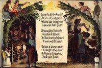 Frohe Weihnachten, Dr Weihnachtsheiligohmd, Erzgebirge, Brot, Engel