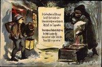 Frohe Weihnachten, Dr Weihnachtsheiligohmd, Erzgebirge, Frost